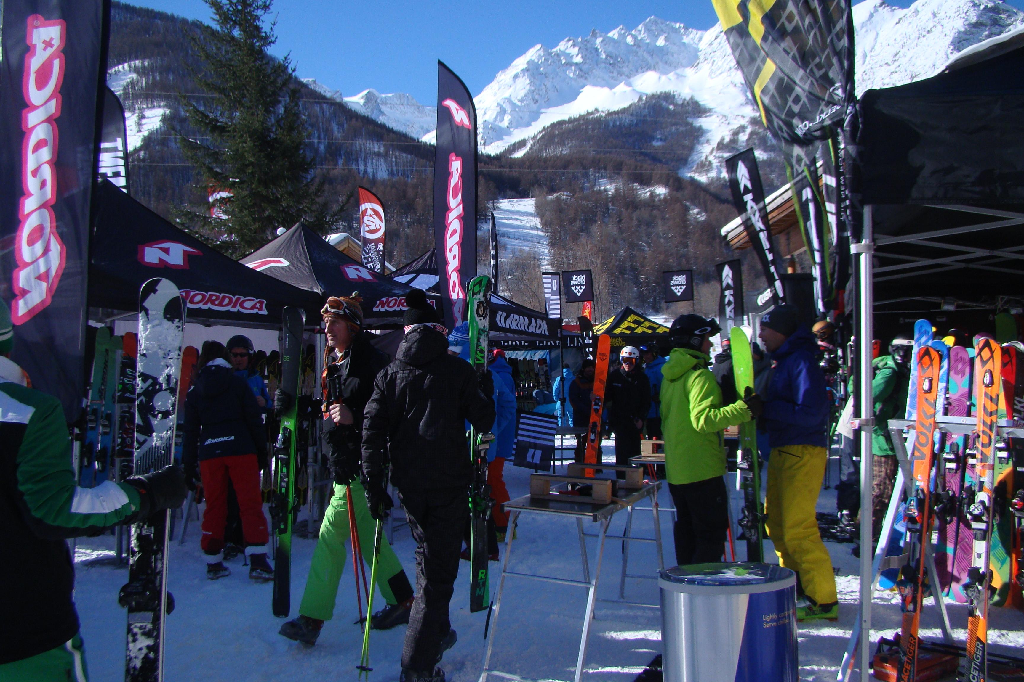 Méribel et Serre Chevalier une nouvelle fois partenaire du Ski Test Tour !!