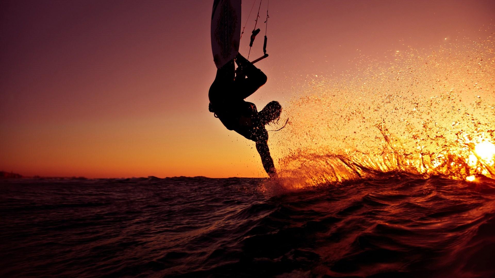 Download Naish Kiteboarding wallpaper Jalou Langeree popping a