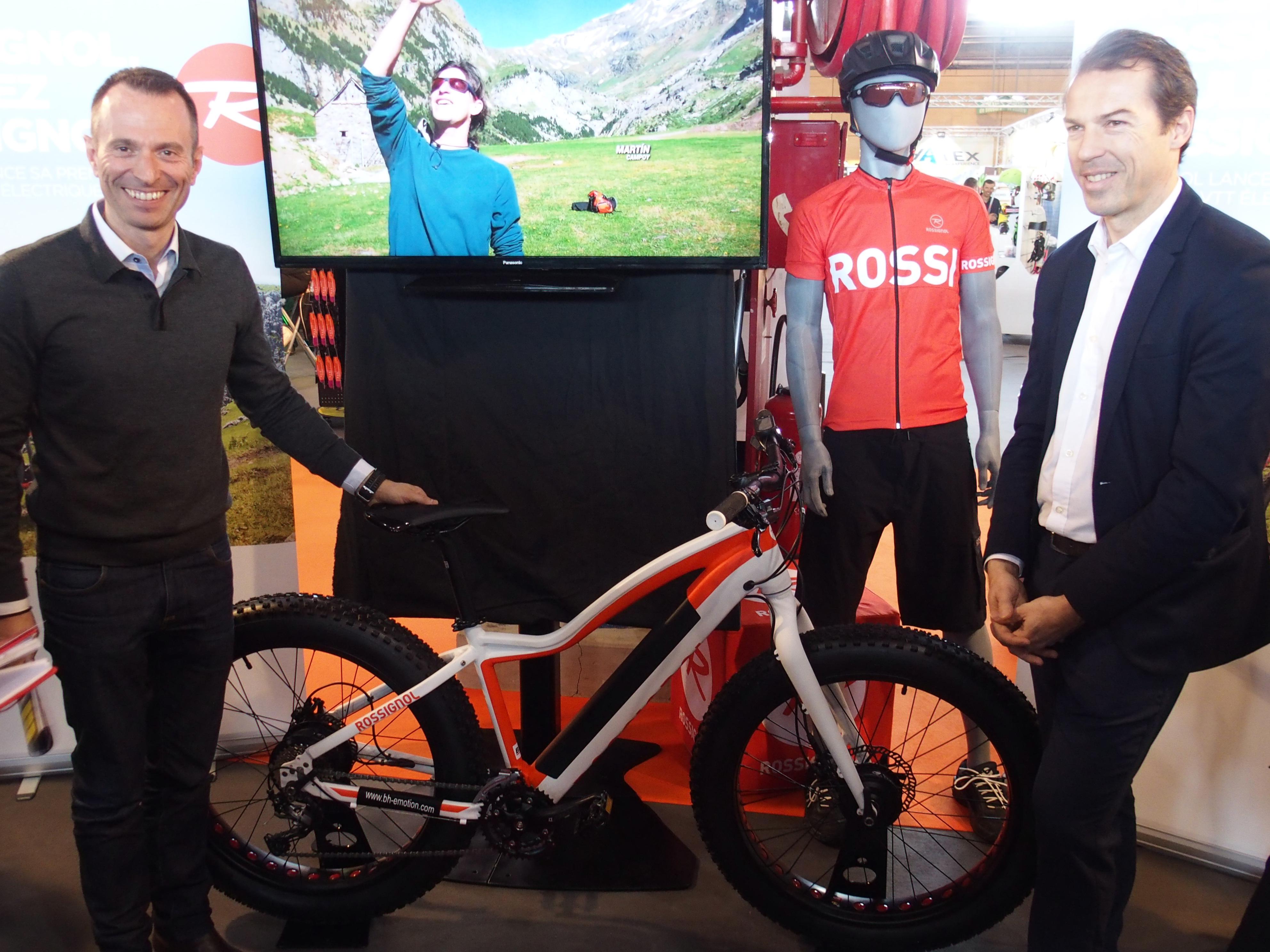 Rossignol se lance sur le marché du cycle.