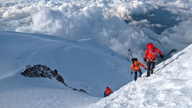 L'équipe de project360 de Mammut vous fait gravir l'Everest !