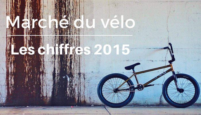 le marché du vélo - les chiffres de 2015
