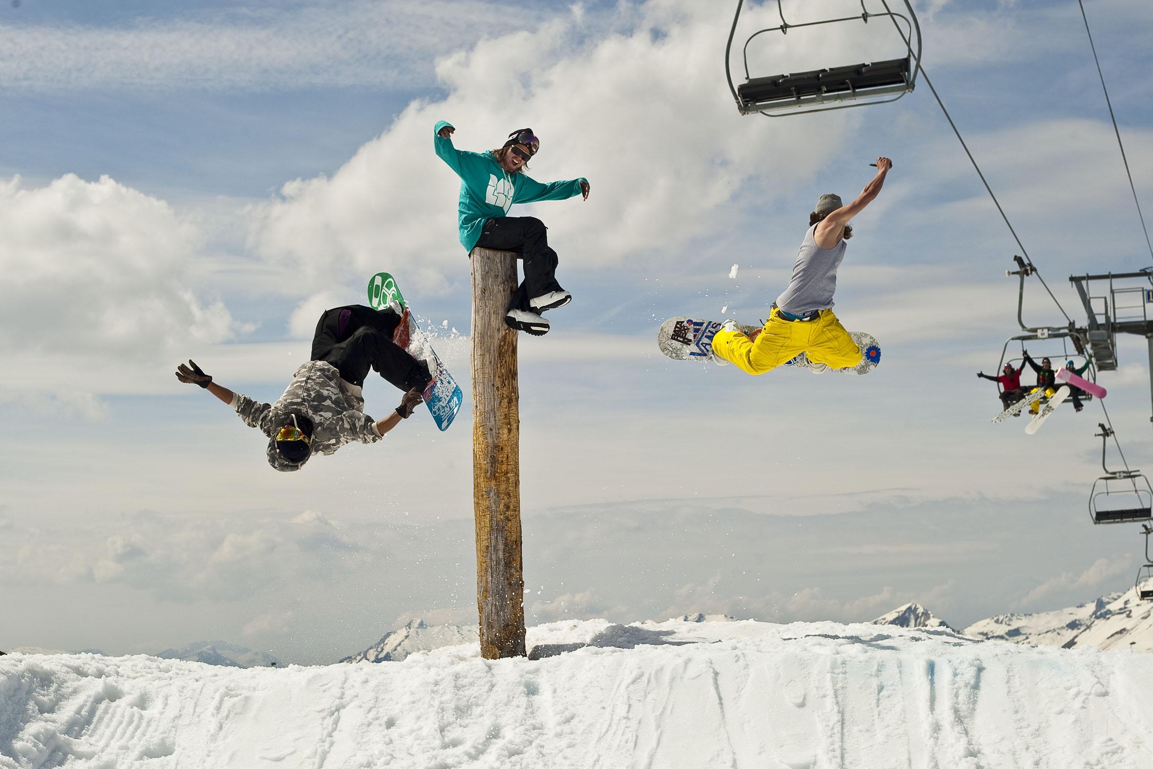 EASY SNOWBOARD au Snow tests de la Clusaz