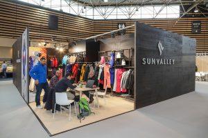 Salon Sports-Achats 2018 à Eurexpo Lyon. Vues intérieures, signalétique.
