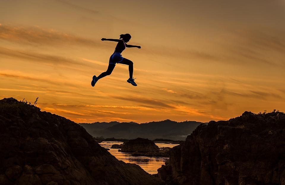 Trail saut